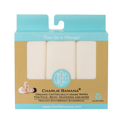 10 Organic Cotton Wipes