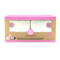 10 Double Sided Wipes Pink