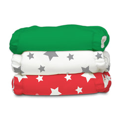 3 Diapers 6 Inserts Tuscany One Size Hybrid AIO