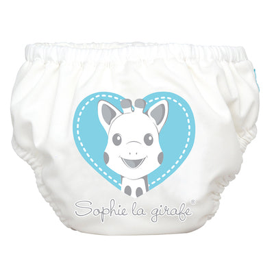 2-in-1 Swim Diaper & Training Pants Sophie Blue Heart Small