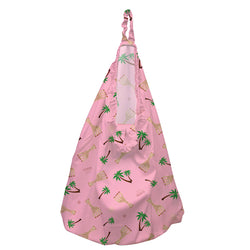 Hanging Diaper Pail Sophie Coco Pink