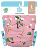Diaper 2 Inserts Sophie Coco Pink One Size Hybrid AIO