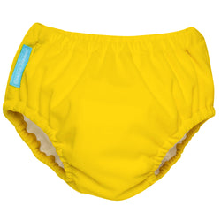 2-in-1 Swim Diaper & Training Pants Yellow Medium