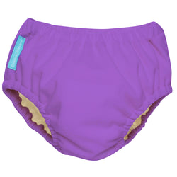 2-in-1 Swim Diaper & Training Pants Lavender Medium