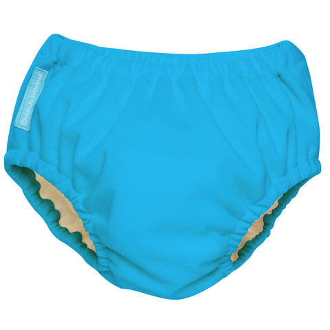 2-in-1 Swim Diaper & Training Pants Turquoise Small