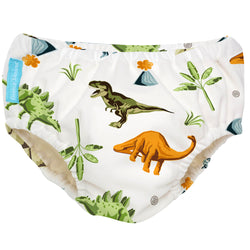Reusable Super Pro Underwear Dinosaurs Large