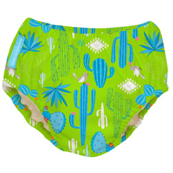 2-in-1 Swim Diaper & Training Pants Cactus Verde Medium