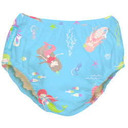 2-in-1 Swim Diaper & Training Pants Mermaid Tiffany Medium