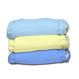 3 Diapers 3 Inserts Unisex X-Small