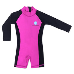 Jumpsuit Black/Hot Pink 6-12 months