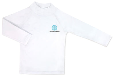 Rash Guard White 6-12 months