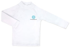 Rash Guard White 18-24 months