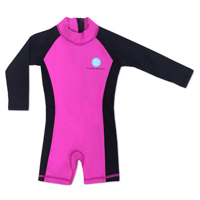 Jumpsuit Black/Hot Pink 18-24 months