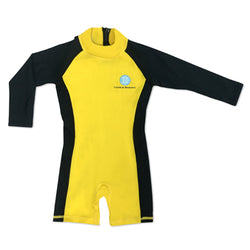 Jumpsuit Black/Yellow 12-18 months