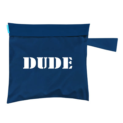 Tote Bag Dude Blue