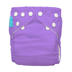 Diaper 2 Inserts Lavender One Size Hybrid AIO