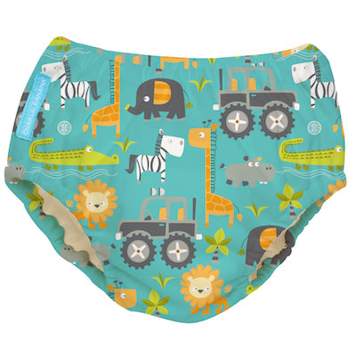 2-in-1 Swim Diaper & Training Pants Gone Safari Medium
