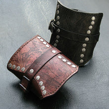 Leather Wristband Card wallets by Sewlutionsbyamo