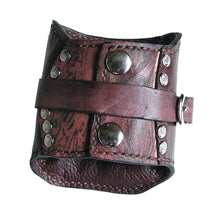 Leather Card Wallet cuff by Sewlutionsbyamo
