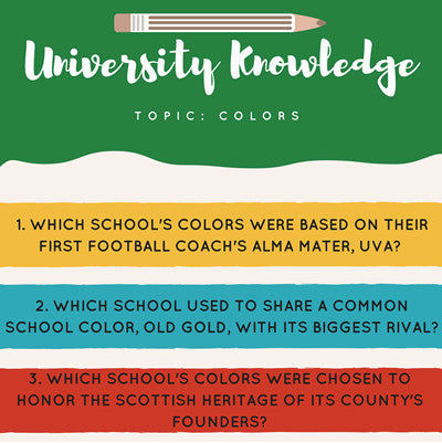 University Knowledge - Colors