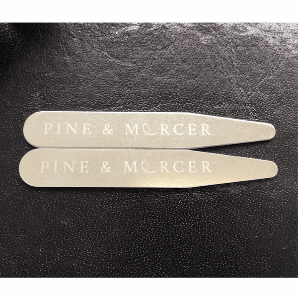 Collar Stays - Pine & Mercer