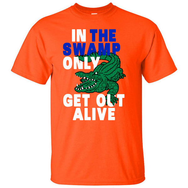 Swamp Shirt - Unisex, Crewneck, Orange - Pine & Mercer