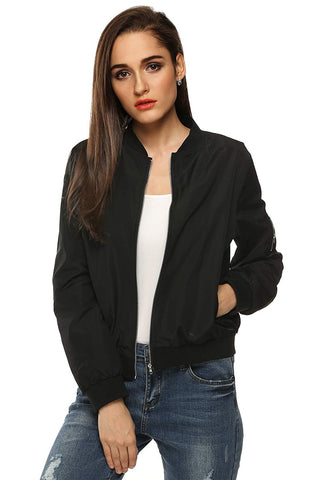 Classic Zip Up Biker Jacket