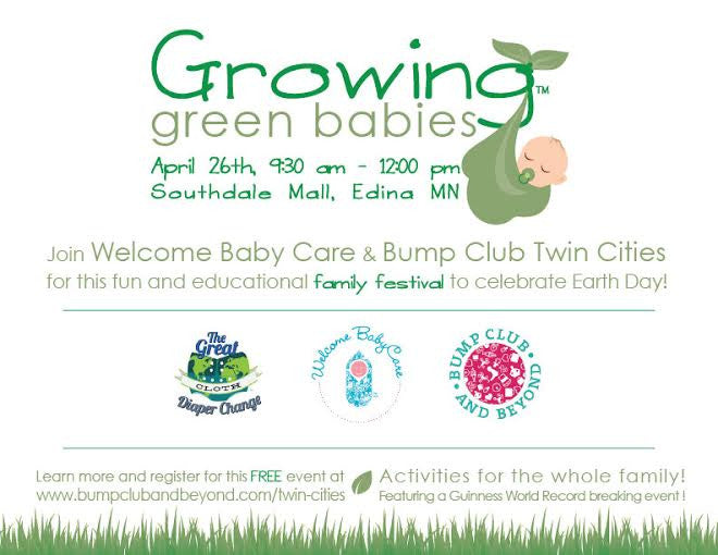 Growing Green Babies event poster