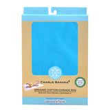 Change Pad Organic Cotton Turquoise