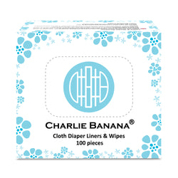100 Cloth Diaper Liners & Wipes