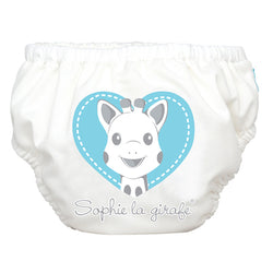 2-in-1 Swim Diaper & Training Pants Sophie Blue Heart Medium