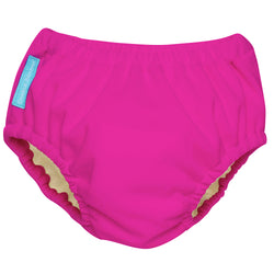 2-in-1 Swim Diaper & Training Pants Hot Pink Medium