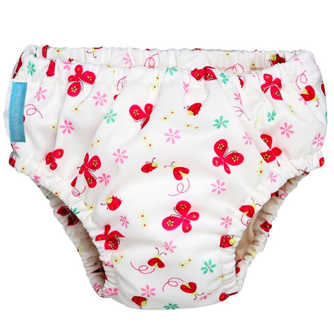 2-in-1 Swim Diaper & Training Pants Butterfly Large