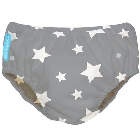 Reusable Super Pro Underwear Twinkle Little Star White Large