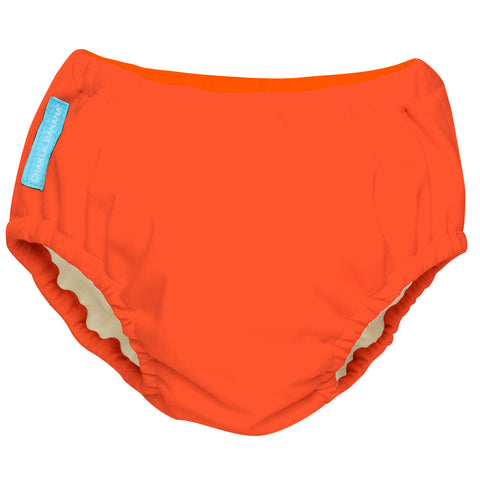 Reusable Swim Diaper Fluorescent Orange Large