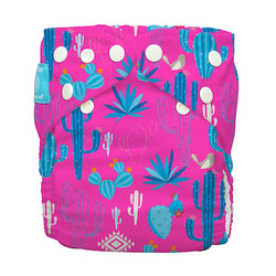 Diaper 2 Inserts Cactus Rose One Size Hybrid AIO