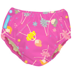 2-in-1 Swim Diaper & Training Pants Diva Ballerina Pink Large