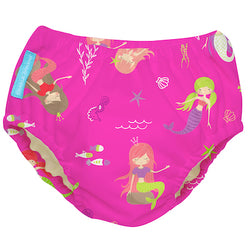 2-in-1 Swim Diaper & Training Pants Mermaid Zoe Large