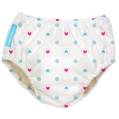 2-in-1 Swim Diaper & Training Pants Lovely Blue Small