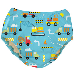 2-in-1 Swim Diaper & Training Pants Construction Small