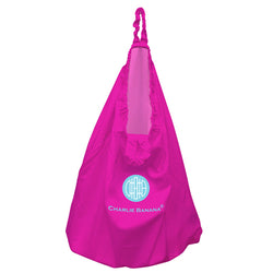 Hanging Diaper Pail Hot Pink
