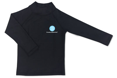 Rash Guard Black 6-12 months