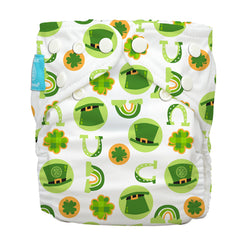 Diaper 2 Inserts Irish Charm One Size Hybrid AIO