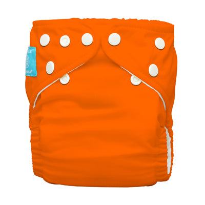 Diaper 2 Inserts Orange One Size