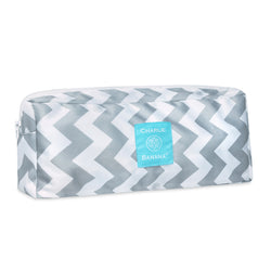 Multi Purpose Wet Pouch Grey Chevron