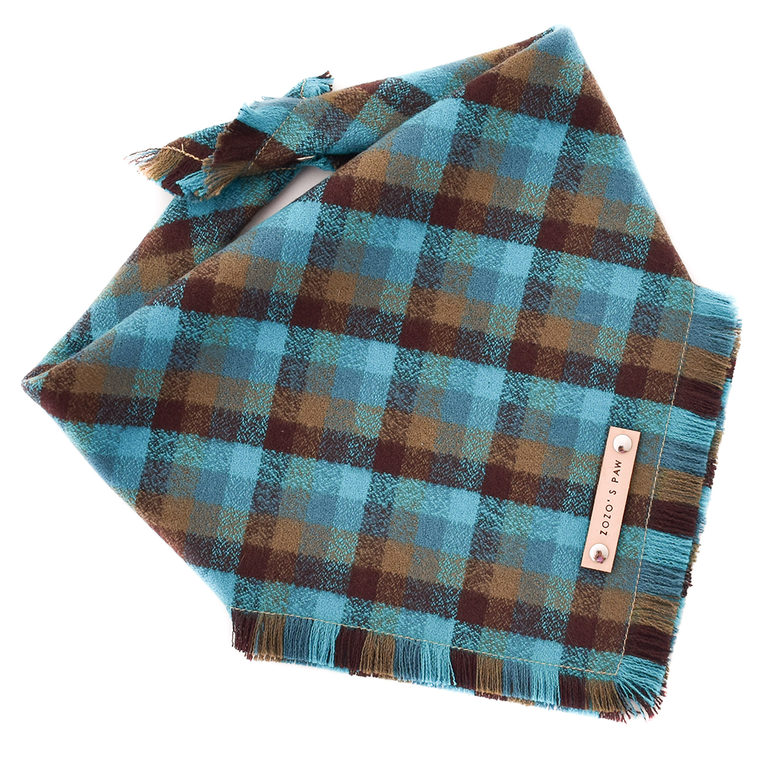 THE CHEWCHEW - Dog Flannel Fray Bandana