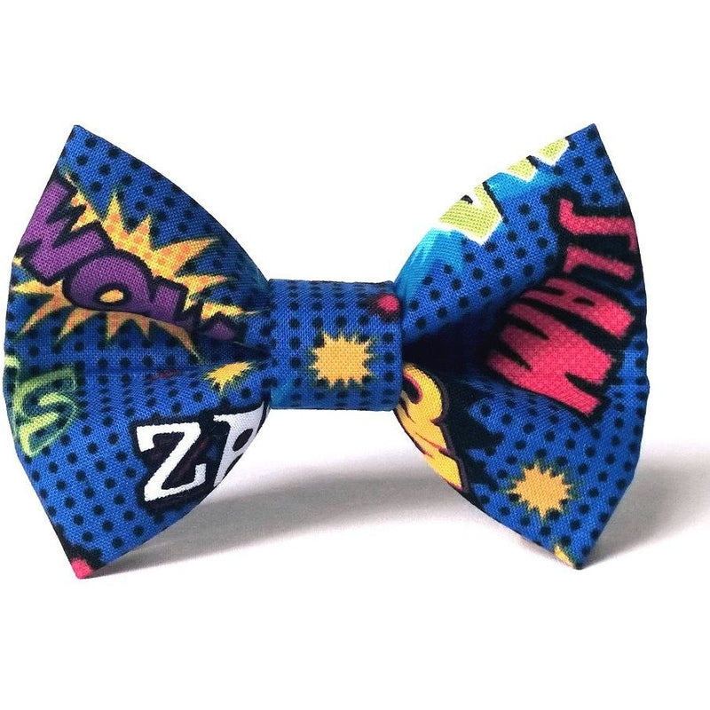 ZoZo's Paw - Comics Superhero Dog Bow Tie