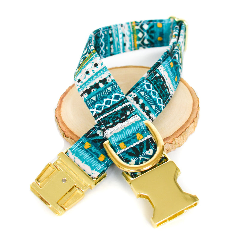 INKA DOG COLLAR AND BOW TIE SET