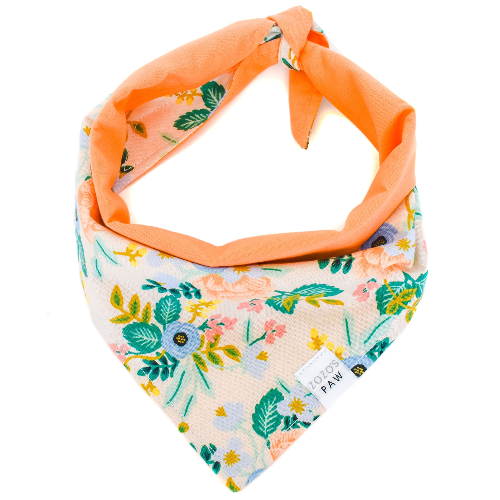 Summer Wildflowers Dog Bandana