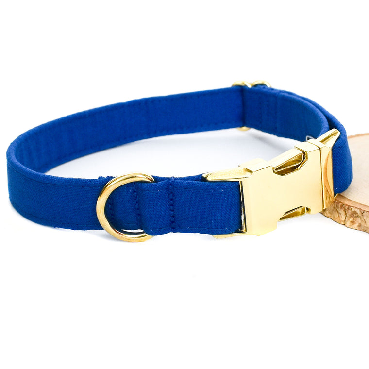 TRUE BLUE DOG COLLAR